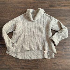 Free people 100% wool sweater